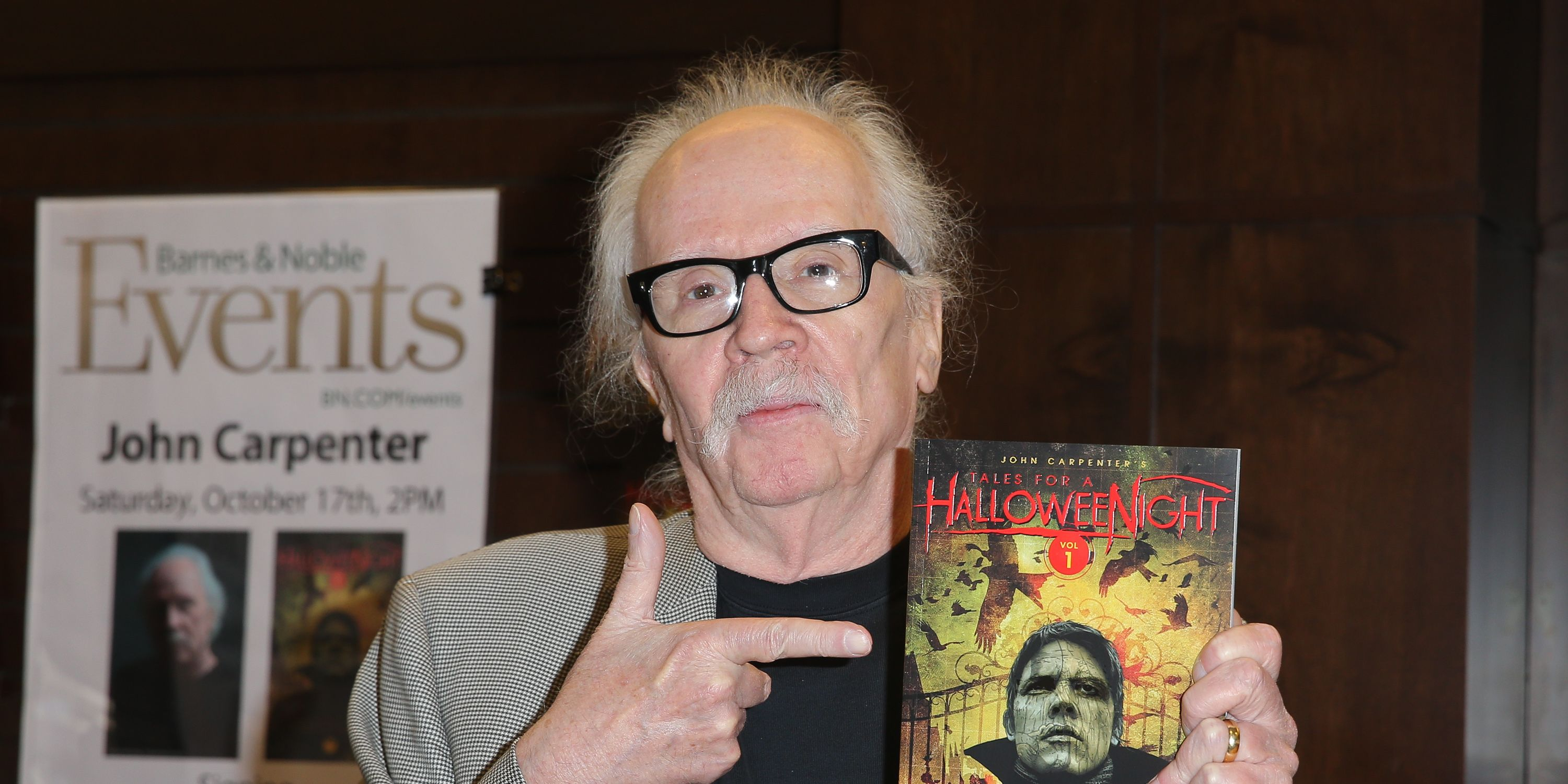 John Carpenter Book Signing For 'John Carpenter's Tale For A Halloween Night'