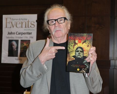 John Carpenter Book Signing For 'John Carpenter's Tale For A Halloween Night'