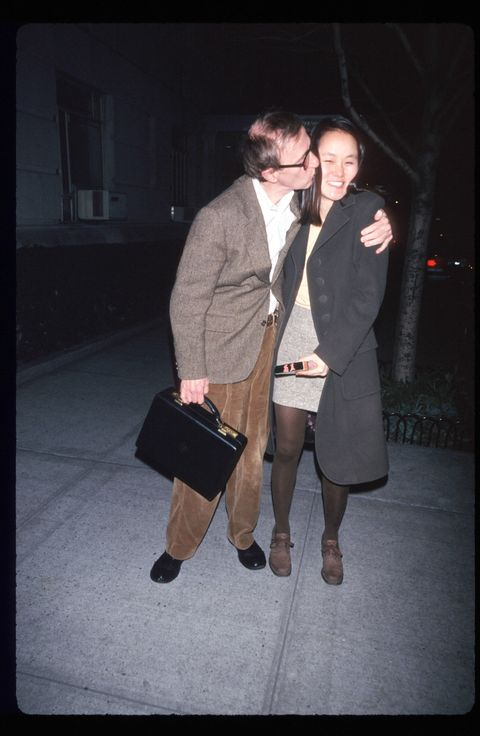 Woody Allen Kisses New Wife Soon Yi
