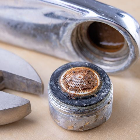 PSA: Kitchen Faucet Aerators Can Harbor a Ton of Gunk and Debris