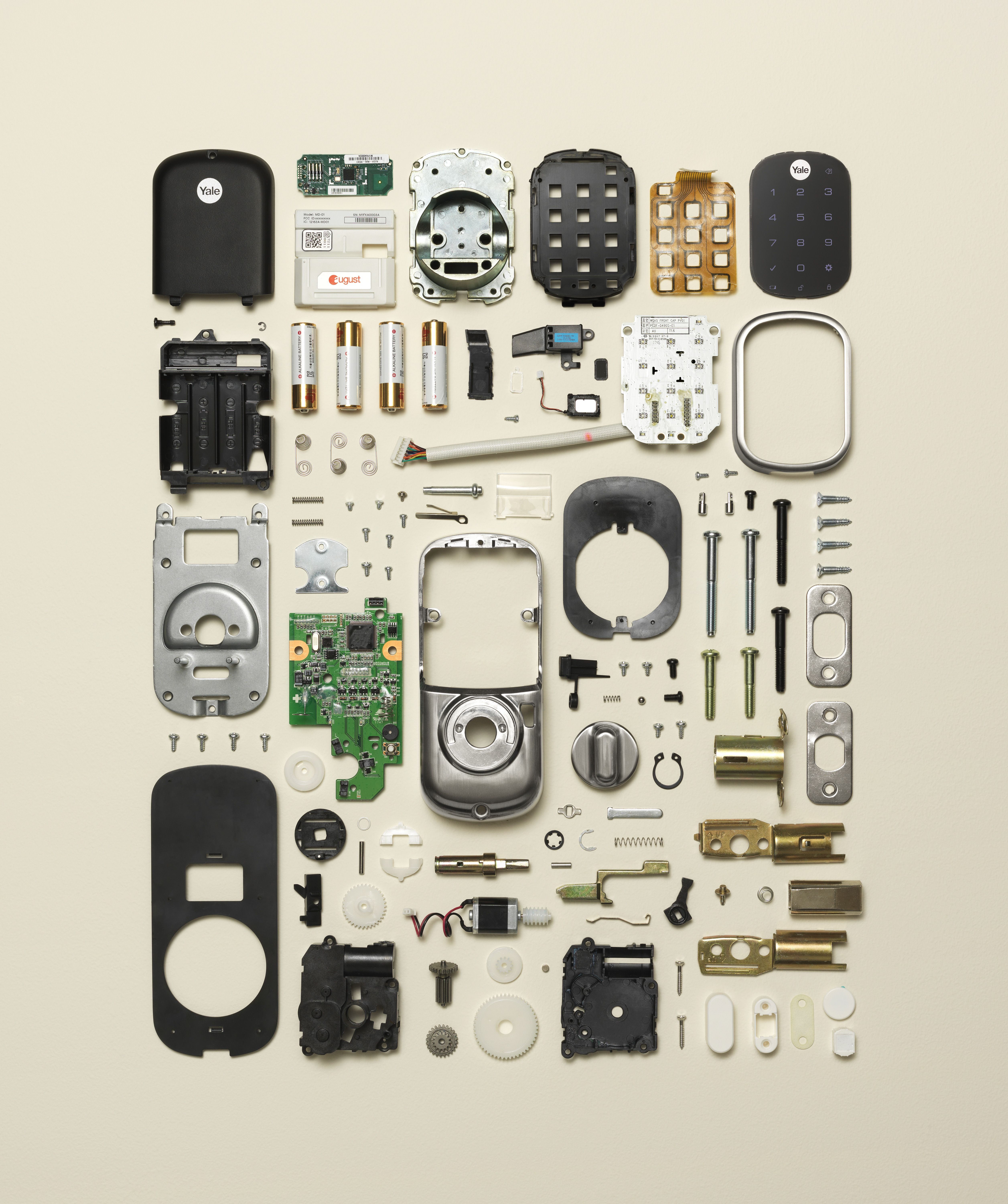 Disassembly of a smart lock