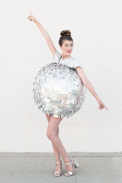 disco ball halloween costume