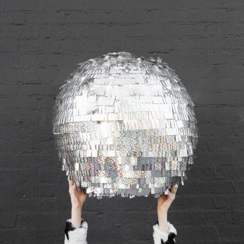 new year's eve games   disco ball piñata