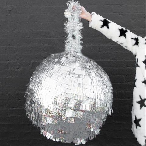 new years eve games disco ball pinata