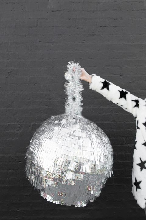new years eve games disco ball pinata