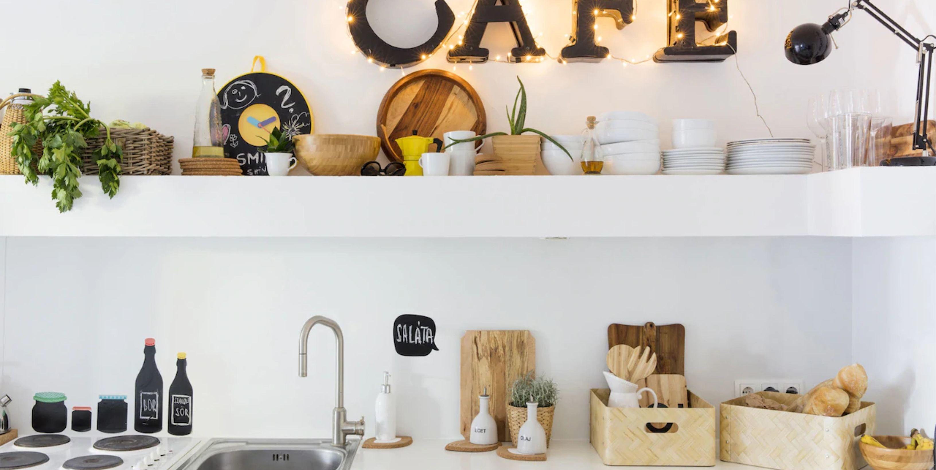 cómo organizar la cocina y ganar espacio con productos de Ikea y Amazon