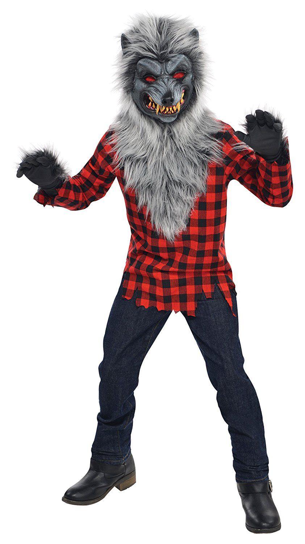 Disfraz de hombre lobo halloween 2018