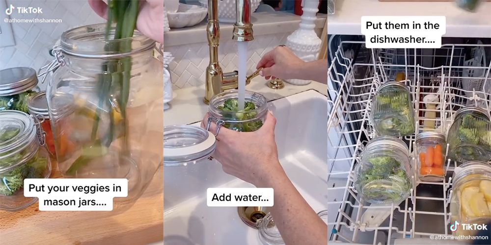 Cooking Vegetables In A Dishwasher Is The Hack We Never Knew We Needed