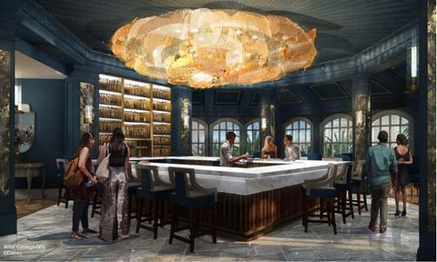 Room, Building, Interior design, Ceiling, Furniture, Table, Architecture, Estate, Dining room,