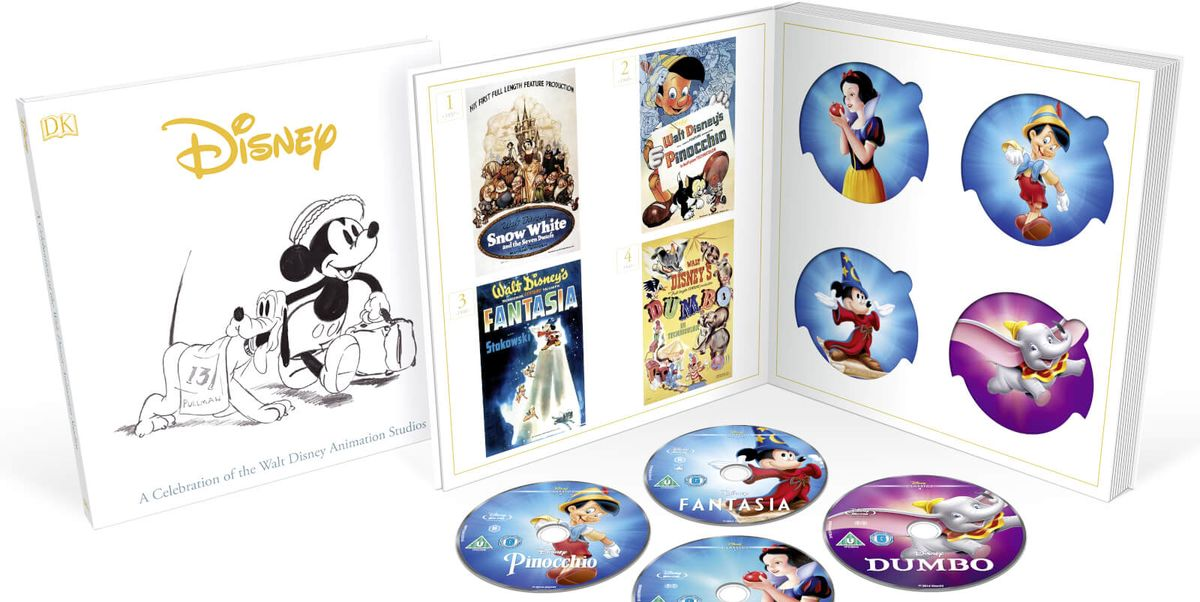 Disney launches incredible boxset of all its animated classics