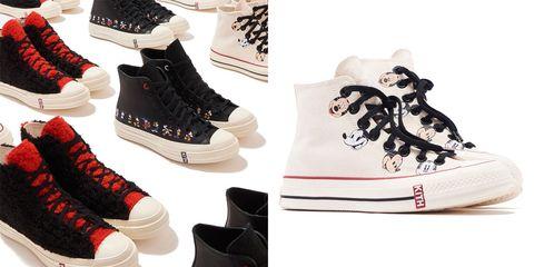 disney kith converse sneaker collection