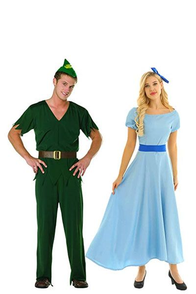 disney-couple-costumes-peter-pan-wendy