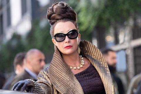 emma thompson as the baroness in disney's live action cruella