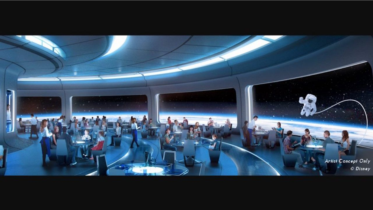 There S A Space Themed Restaurant Coming To Epcot In 2019