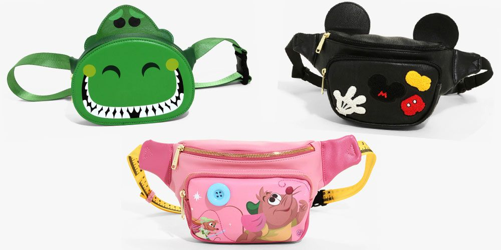 Consider These Disney-Inspired Fanny Packs an Essential for Your Next Trip