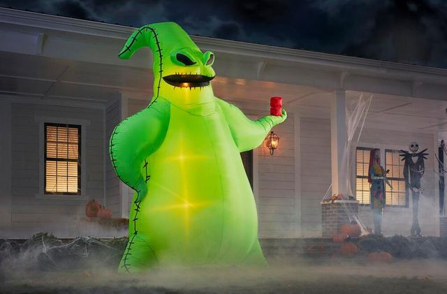 home depot oogie boogie inflatable