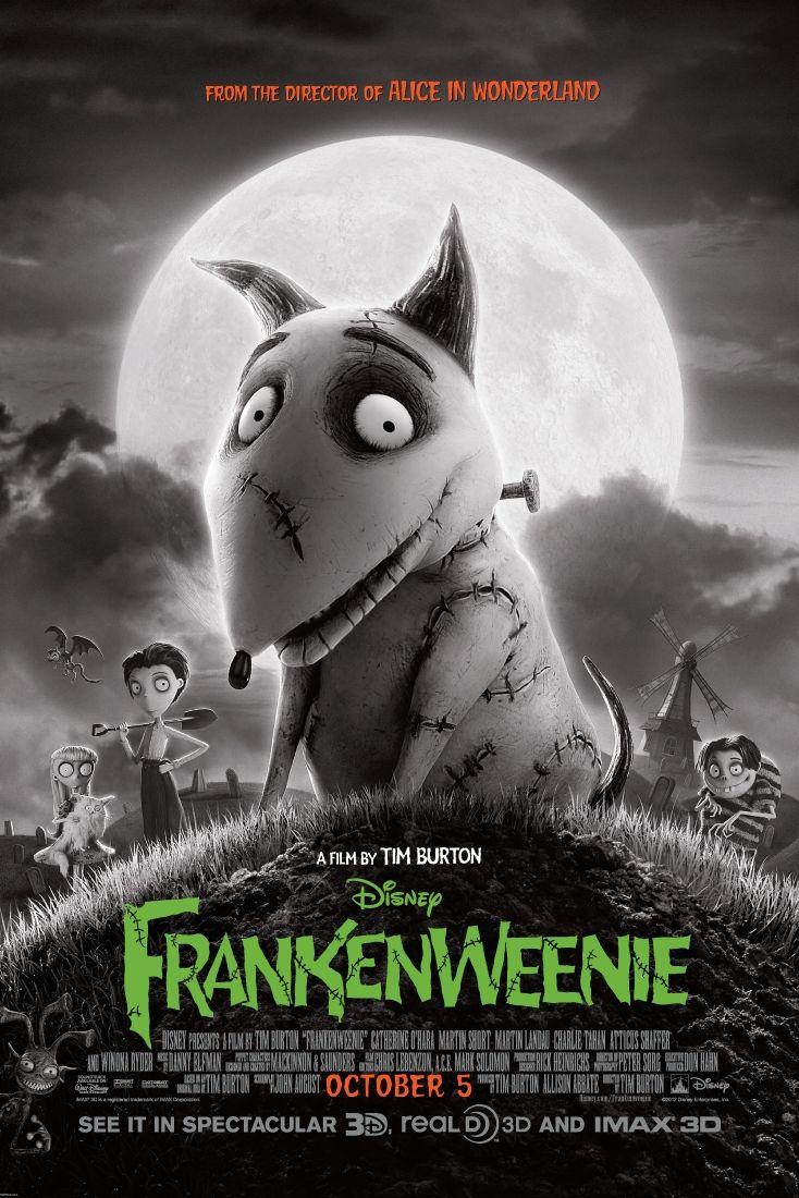 disney halloween movies frankenweenie
