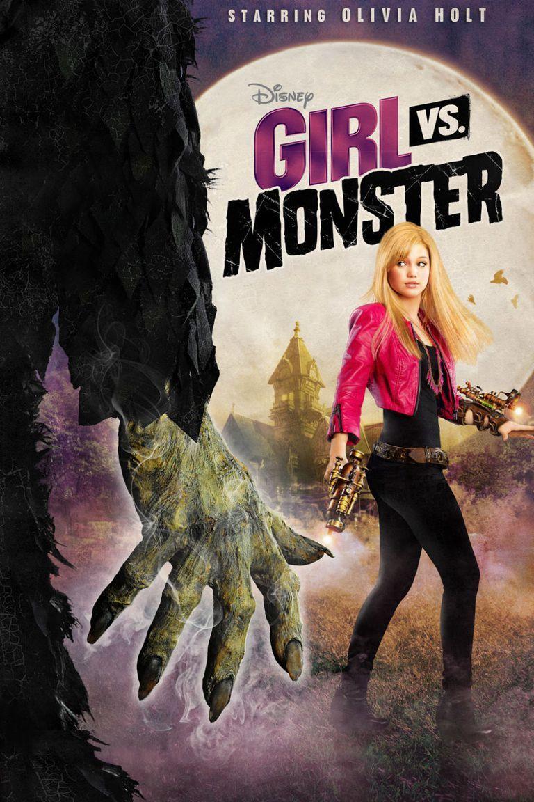 disney halloween movies girl vs monster