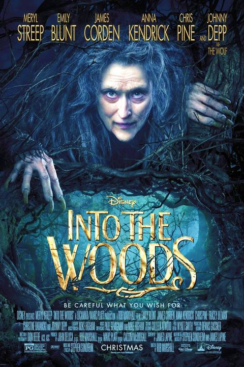disney halloween movies into the woods