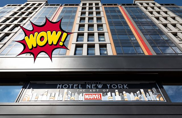 fachada hotel new york en disneyland parís
