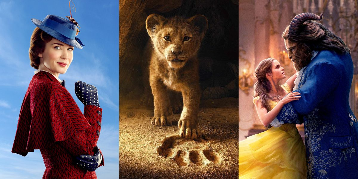Full Disney Live Action Movies List From Cinderella To The