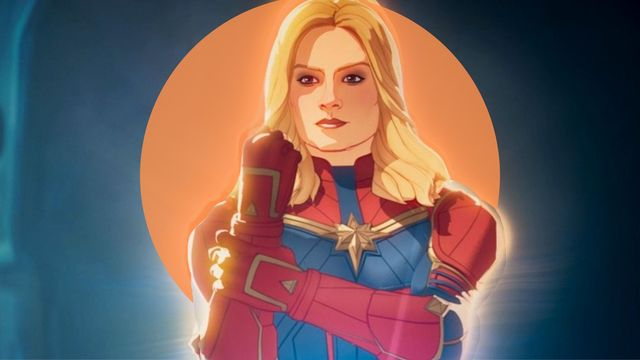 la capitana marvel en el episodio 7 de la serie what if de marvel studios en disney