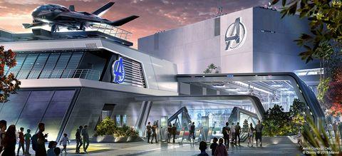Parque Disney Marvel Vengadores
