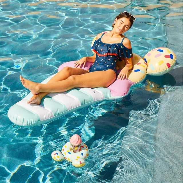 disney mickey mouse ice cream cone pool float