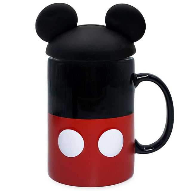 disney mickey mouse mug with ears lid