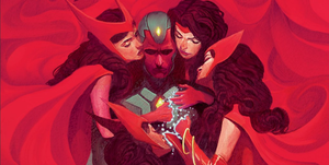 disney plus series marvel universo vision bruja escarlata