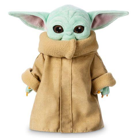 Yoda, Toy, Fictional character, Stuffed toy, Plush, Action figure, Fawn, Superhero,