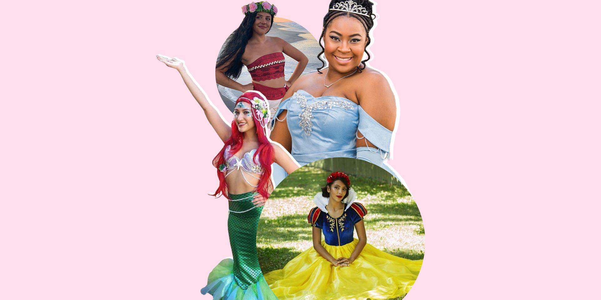 Badass disney princess costumes
