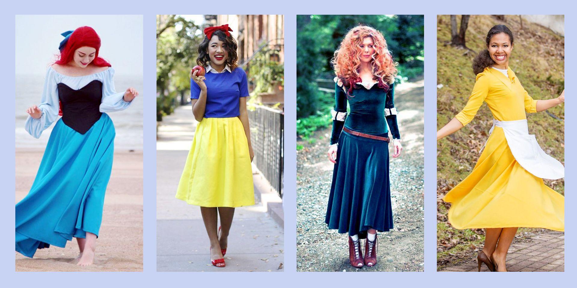 18 DIY Disney Princess Halloween Costumes , Princess Costume