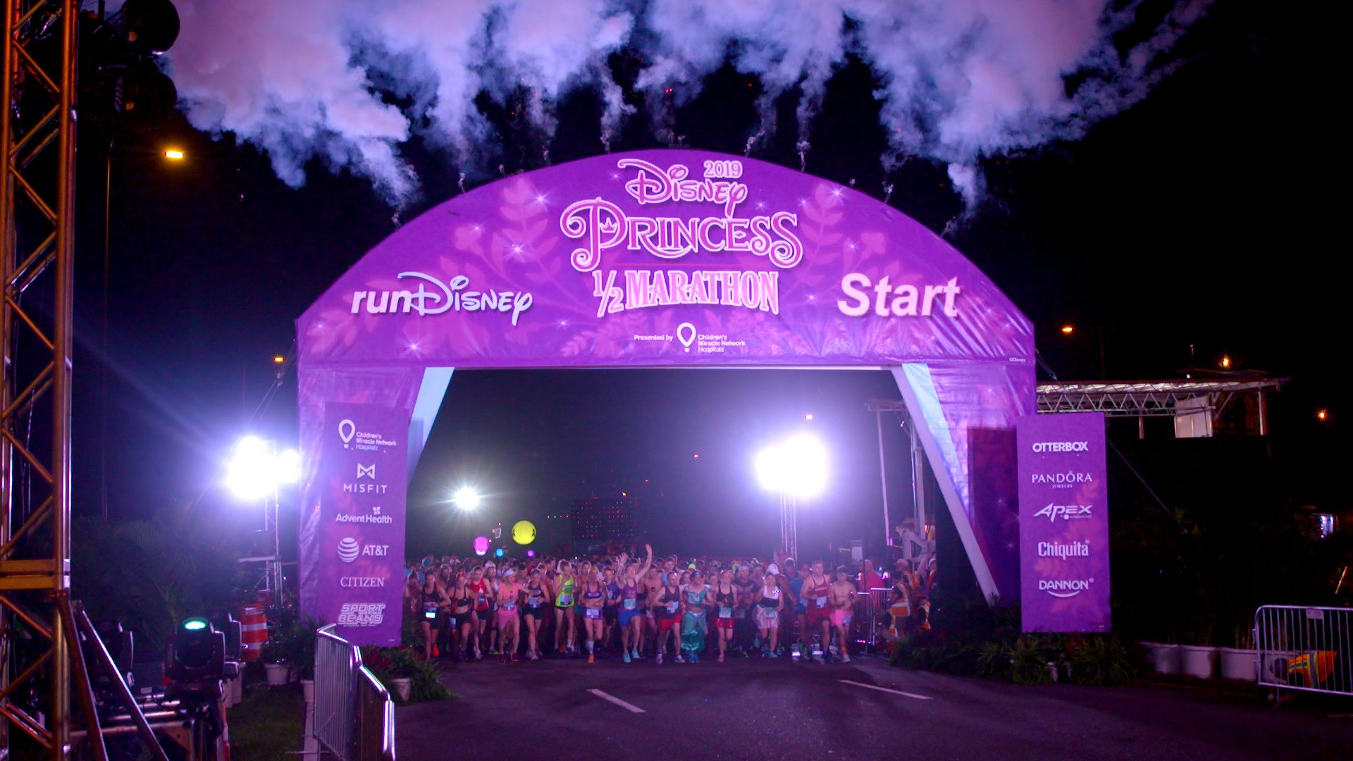What It's Like Running The Disney Princess Half Marathon In Disney Disney Princess Half Marathon Map on