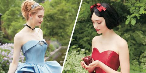 Disney Princess Wedding Dresses - Japanese company Kuraudia has ...