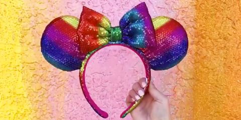 Rainbow Sequin Minnie Ears Are Coming to Disney Parks