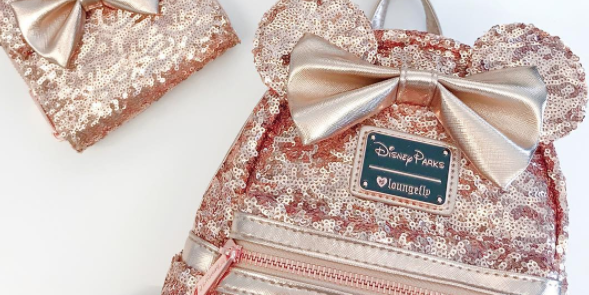 3a5ff5af62f Disney Has a Rose Gold Backpack and It Sold Out In One Day – Disney Rose  Gold Merchandise