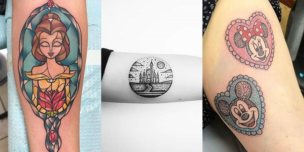21 magical Disney tattoos you're going to want to copy