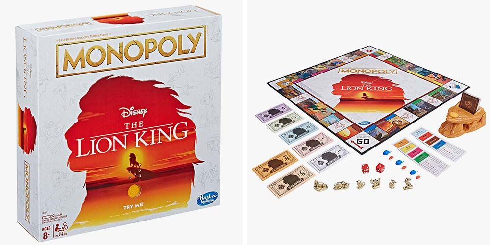 Disney S The Lion King Monopoly Will Resurrect Family