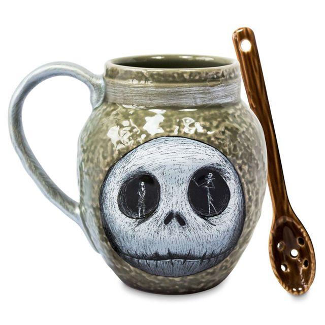 disney 'the nightmare before christmas' mug and spoon set