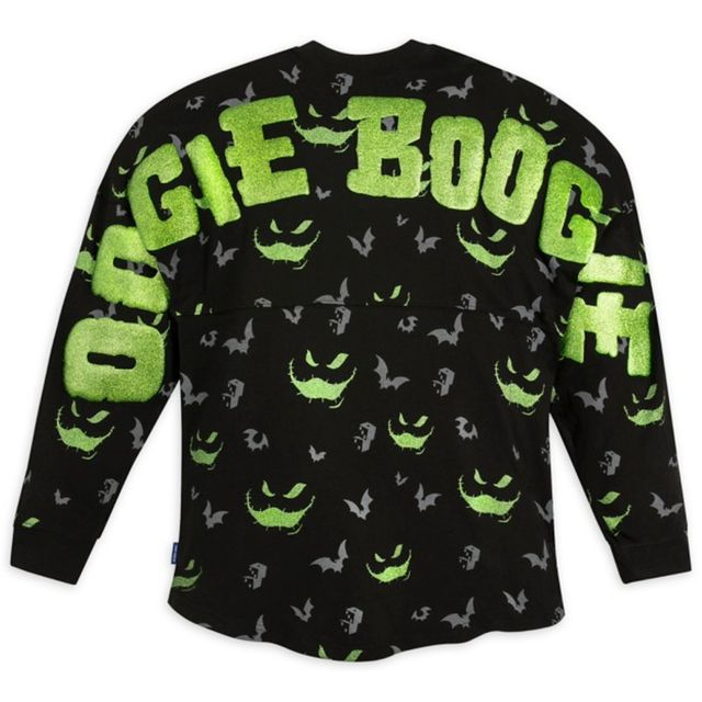 disney the nightmare before christmas oogie boogie spirit jersey