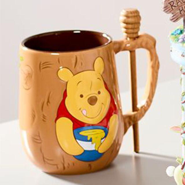 disney winnie the pooh mug and honey dipper set