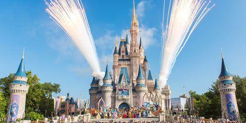 Landmark, Walt disney world, Amusement park, Crowd, Recreation, World, Park, Tourist attraction, Architecture, Event,