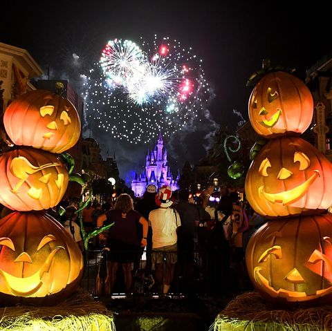 disney world halloween photos fireworks