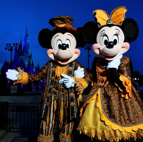 disney world halloween photos mickey and minnie
