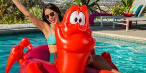 Disney Little Mermaid pool floats
