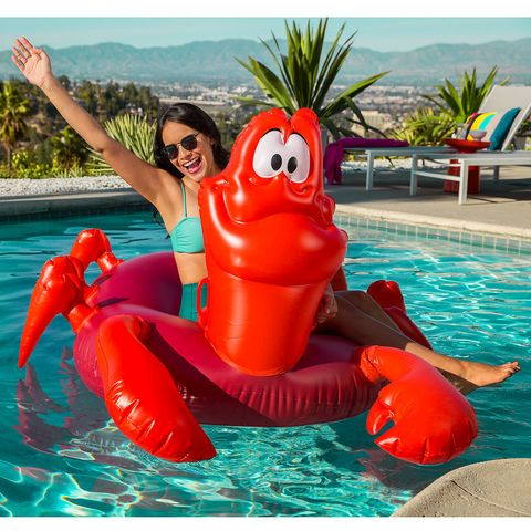 These Disney Little Mermaid Pool Floats Are Everything