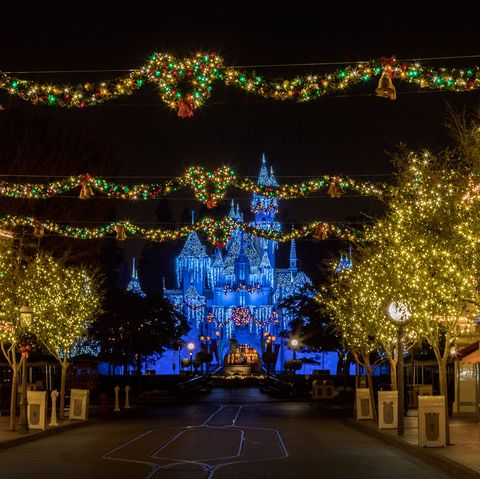 Disneyland Christmas Decorations By The