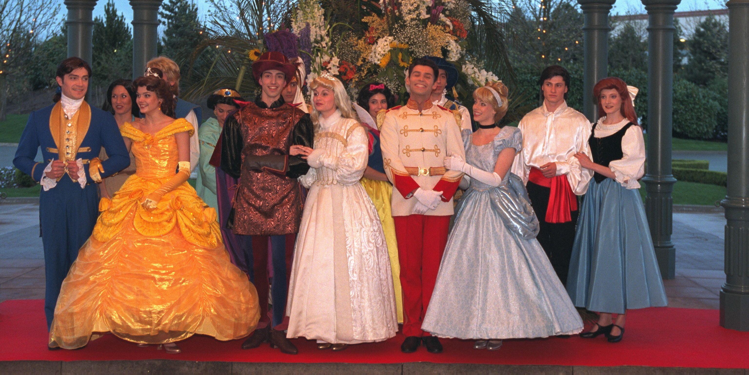Princess, Prince, Belle, Cinderella