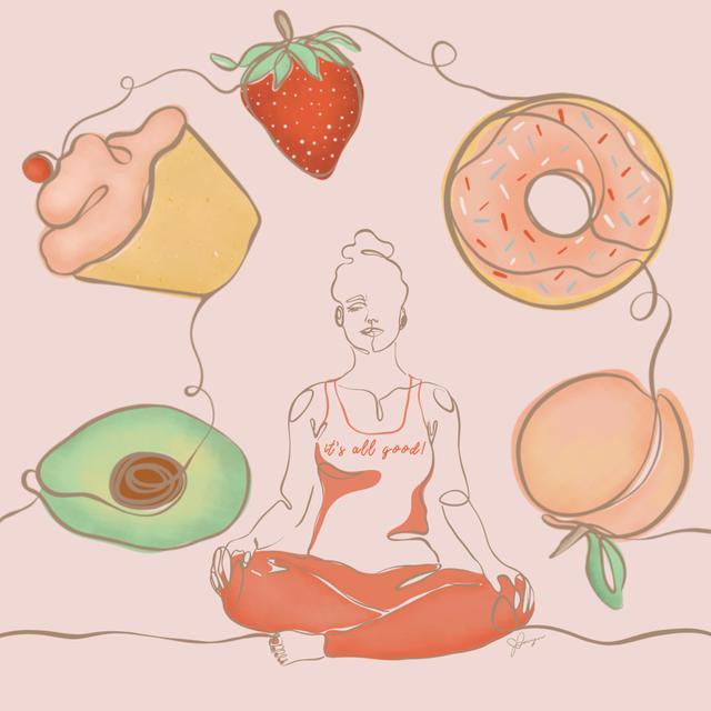 disordered eating illustration